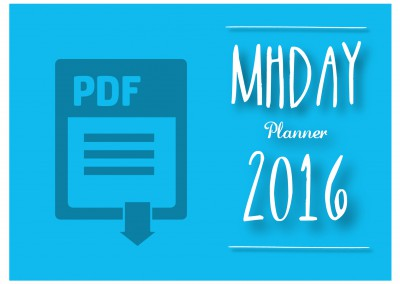 Planner MHDay 2016