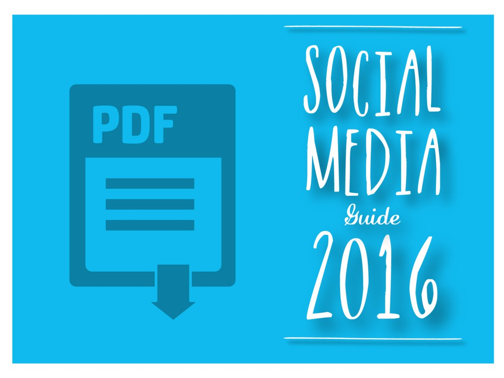 Social media guide 2016