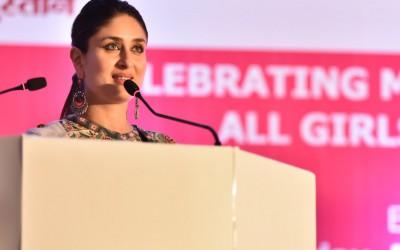 Bollywood Actress Kareena Kapoor celebrates champions for menstrual hygiene