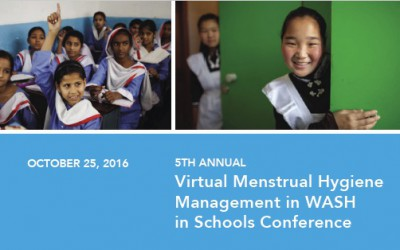 Highlights from the 5th Virtual Conference  MHM in WASH in Schools