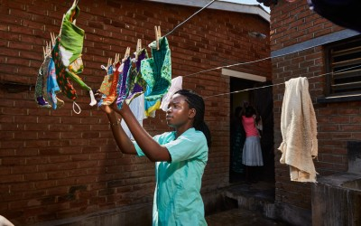 Huffington Post: Meet The Young Malawian Women Tailoring And Selling Reusable Sanitary Pads