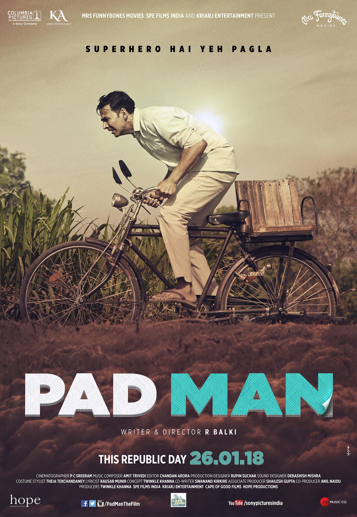 Pad Man movie | MHDay