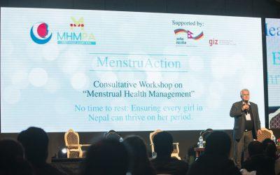 Nepal's consultative workshop on MenstruAction