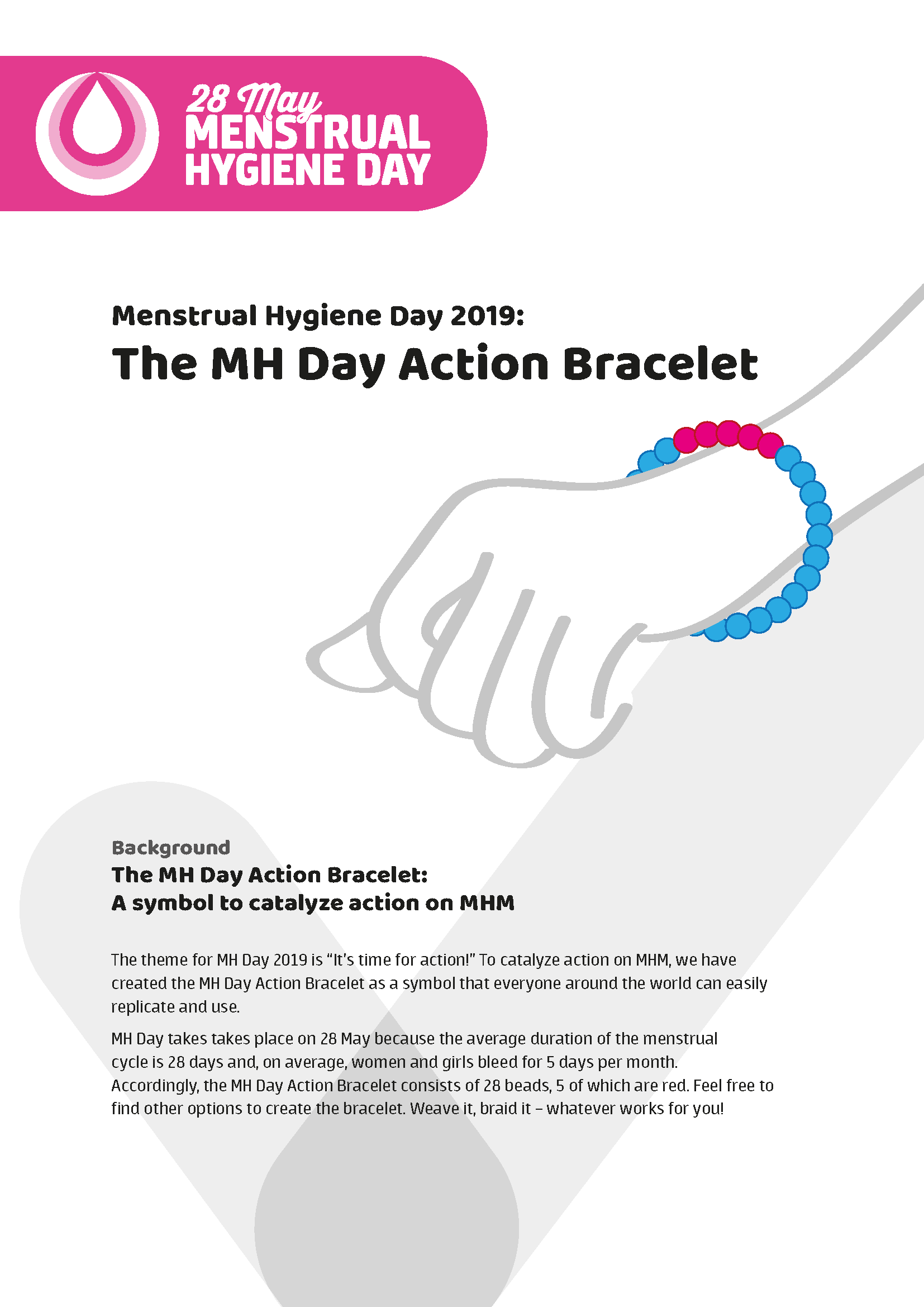 2019 Campaign Materials | MHDay