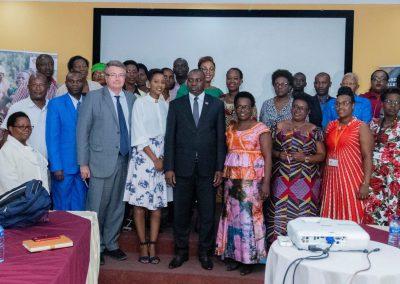 Burundi- African Women In Action, Minister des droites de la personne humaine, l'ambassade du France