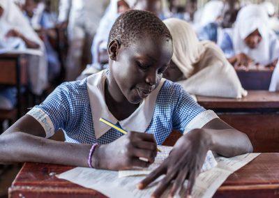 Educating girls in humanitarian settings