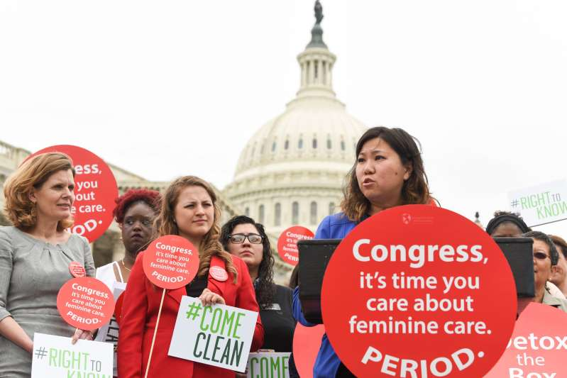 US Congresswoman Introduces Bill for Menstrual Equity in the US