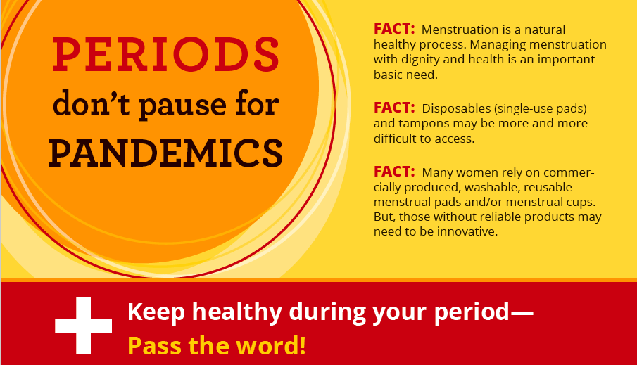Periods do not stop for pandemics | MHDay